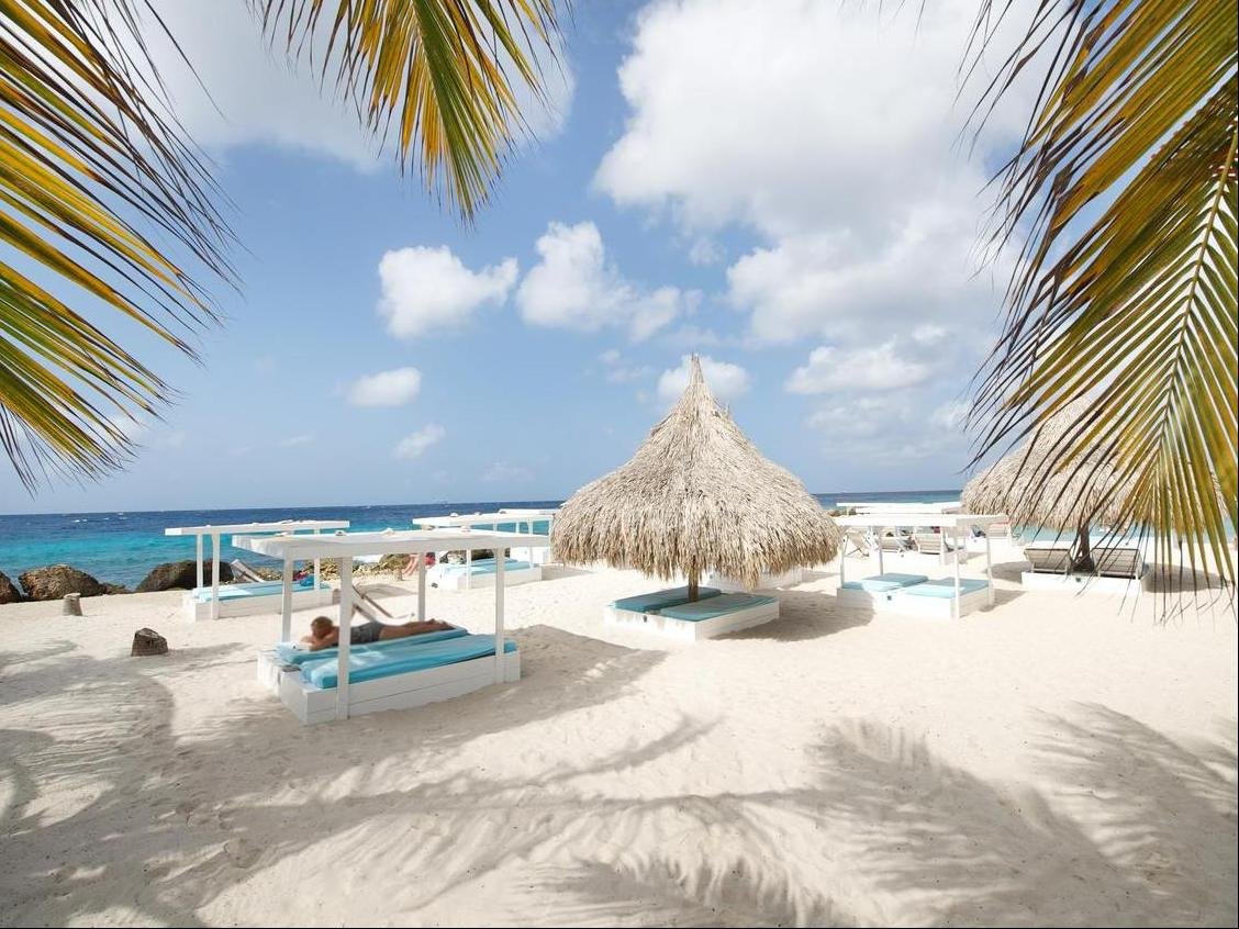 Jan Thiel Beach - Vibrant beach life is just a 5 minutes walking distance from Morena Eco Resort Curacao!